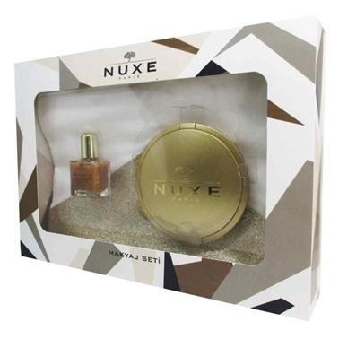 Nuxe  Poudre Eclat 25g + Huile Prodigieuse OR 10ml Kofre Renksiz